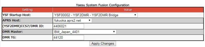 Ysf To Dmr Bridge